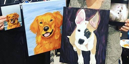 Paint your Pet Portrait Class at Fido's Taphouse