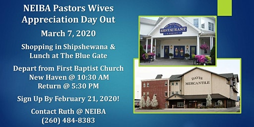 Ministry Wives Day Out