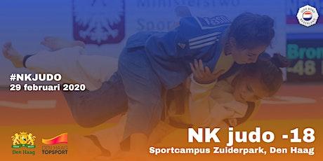 NK Judo -18 jaar 2020 tickets