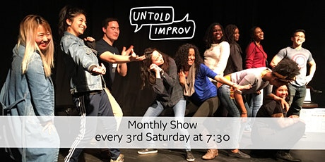 Untold Improv tickets