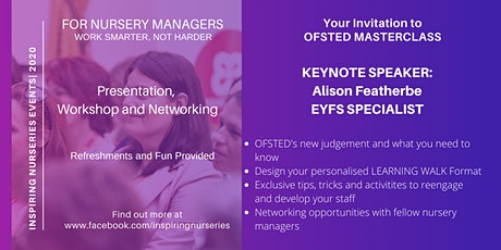 OFSTED MASTERCLASS - everything you need to know tickets
