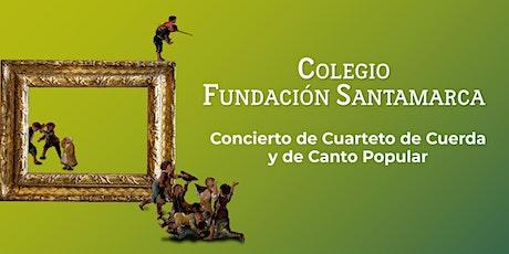 Concierto de Cuarteto de Cuerda y de Canto Popular entradas