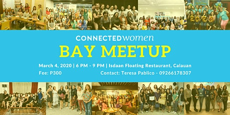#ConnectedWomen Meetup - Bay (PH) - March 4 tickets