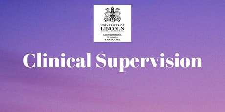 Clinical Supervision - MSc Nursing tickets