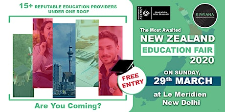 New Zealand Education Fair - Study In New Zealand ( FREE ENTRY) tickets