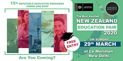 New Zealand Education Fair - Study In New Zealand ( FREE ENTRY)