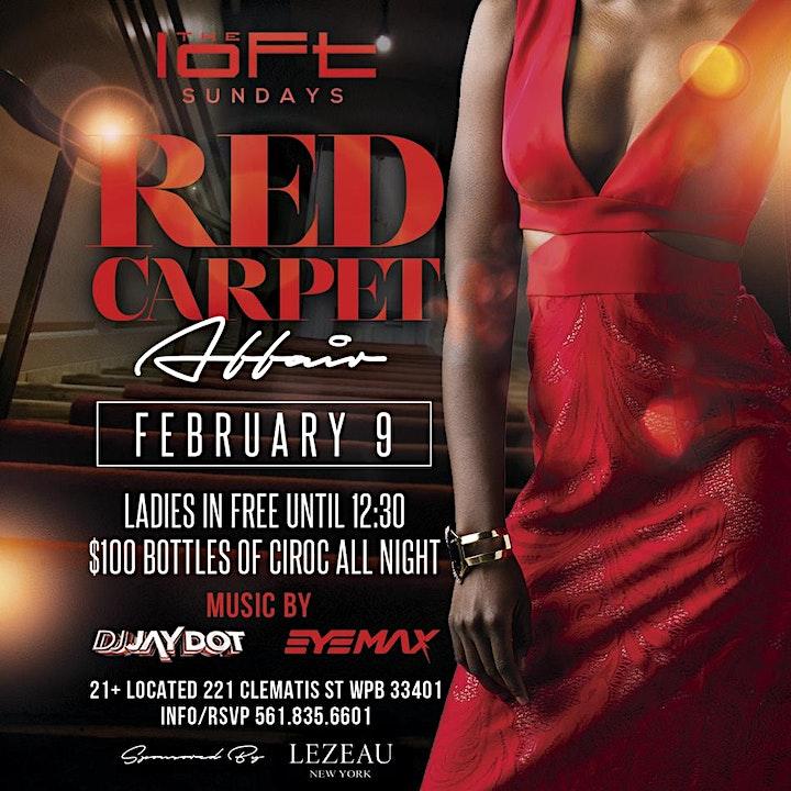 Loft Sundays Presents: Red Carpet Affair image