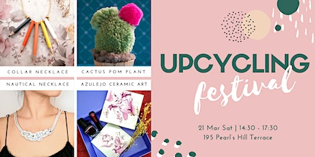 Upcycling Craft Festival: Session 2 Collar Necklace & Statement Necklace tickets