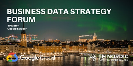 Stockholm Business Data Strategy Forum tickets