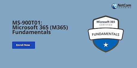 Microsoft 365 (M365) Fundamentals Training in Washington DC tickets