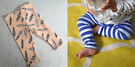 Sew your own baby/toddler leggings tickets