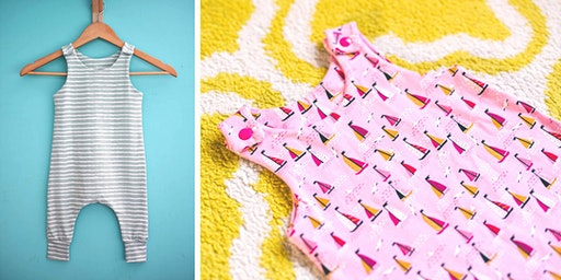 Sew your own baby/toddler harem romper
