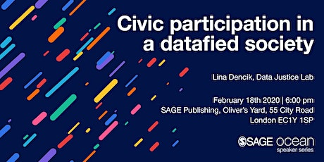 Civic participation in a datafied society tickets