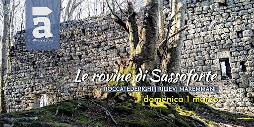 Le rovine di Sassoforte