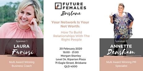 Your Network Is Your Networth: Build Relationships With The Right People tickets