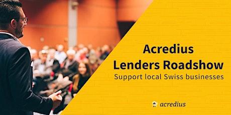 Acredius Lenders Roadshow Tickets