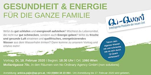 Gesundheit und Energie für die ganze Familie