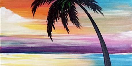Sip & Paint Workshop 'Rainbow Sunset'  tickets