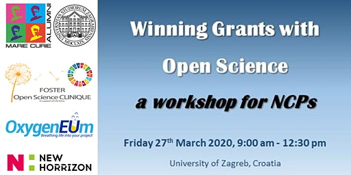 Winning Grants with Open Science - a workshop for NCPs