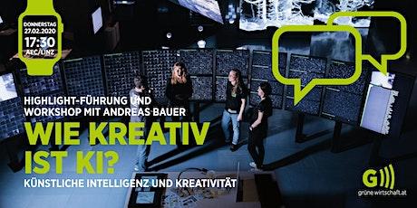 Wie kreativ ist KI? Künstliche Intelligenz und Kreativität Tickets