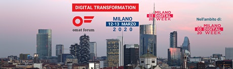 omat forum MILANO  - 12-13 marzo 2020 tickets