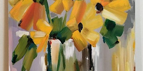 Sip & Paint Workshop 'Yellow Flowers'  tickets