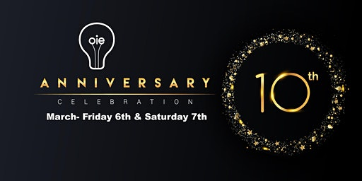 OIE 10th Anniversary Celebration
