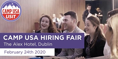 Camp USA Hiring Fair - Feb 24th (Dublin) tickets
