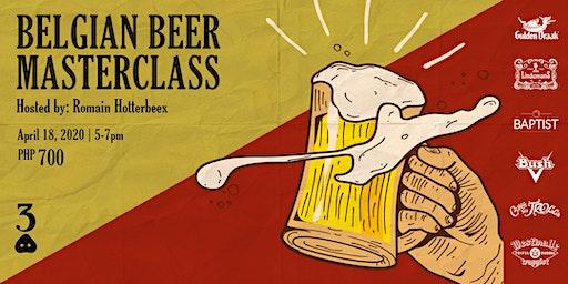 Belgian Beer Masterclass