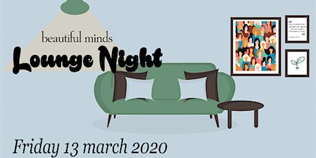 Beautiful Minds Lounge Night tickets
