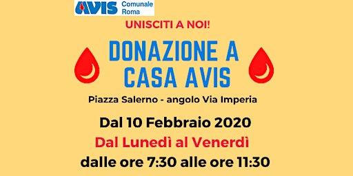 Dona con Avis a Piazza Salerno!