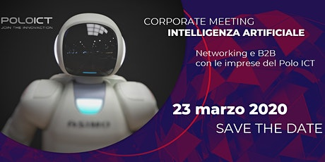 Corporate Meeting Intelligenza Artificiale biglietti