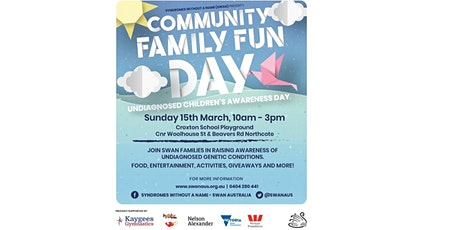 VIC Community Family Fun Day - Undiagnosed Children's Awareness Day (UCAD) tickets