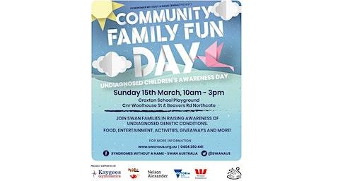 VIC Community Family Fun Day - Undiagnosed Children's Awareness Day (UCAD)