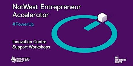 NatWest & DMU Pre-Accelerator Workshop 2 – Customer first tickets