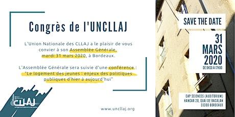 Congrès de l'Union Nationale des CLLAJ billets