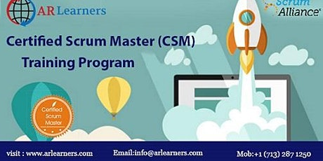 CSM Certification Training in Denver, CO,USA tickets