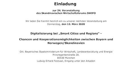 """Digitalisierung bei """"Smart Cities und Regions"""" Tickets"""