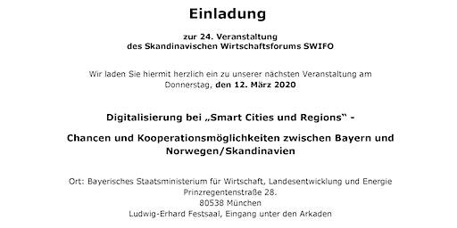 """Digitalisierung bei """"Smart Cities und Regions"""""""