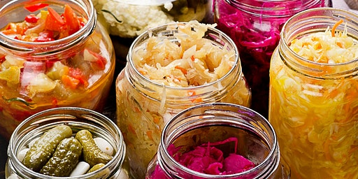 Fermentation Class- Sauerkraut & Fermented Vegetables