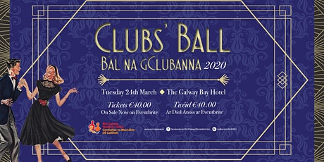 Clubs' Ball 2020 Postponed! tickets