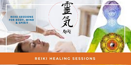 Remote Reiki Healing Sessions tickets