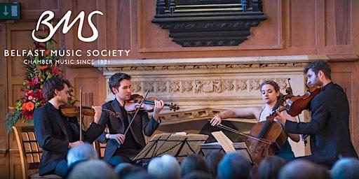 The launch  of Belfast's International Festival of Chamber Music