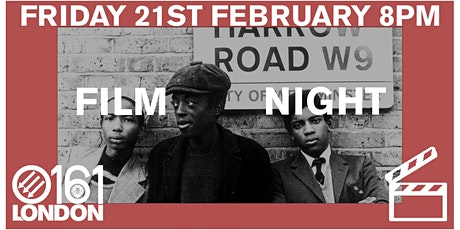 0161 London Film Club Presents : Pressure tickets