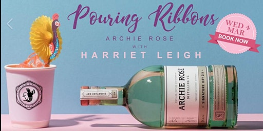 POURING RIBBONS  @Hains & Co –  Archie Rose Gin Blending with Harriet Leigh
