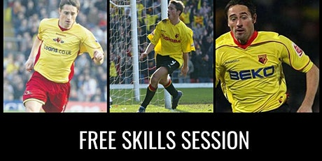 Free Skills Session in Northolt with Watford Legend Tommy Smith tickets