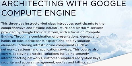 Architecting with Google Compute Engine tickets
