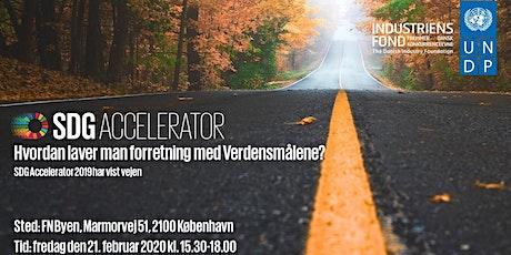 Fejring af virksomhederne i SDG Accelerator 2019 tickets