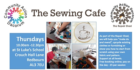 The Sewing Cafe tickets