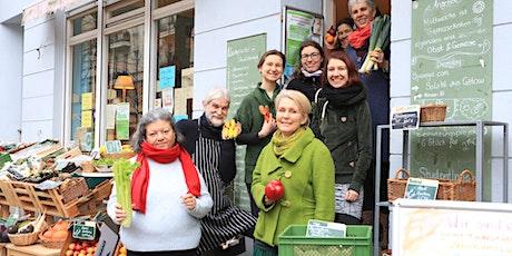 Gemeinwohl-Foodcoop im Bioladen - Fragestunde für Interessierte  Tickets